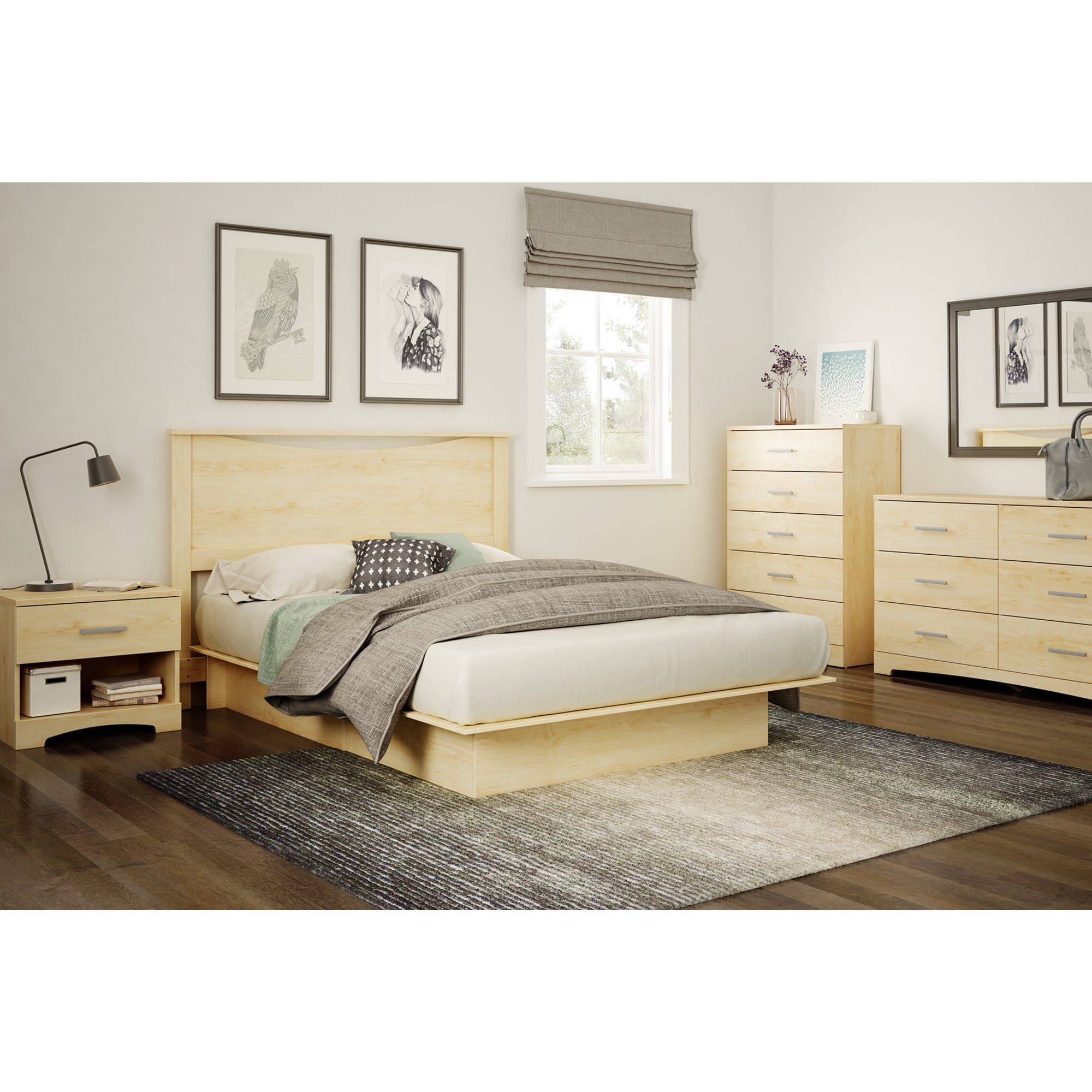 South-Shore-Gramercy-Single-drawer-Nightstand thumbnail 10