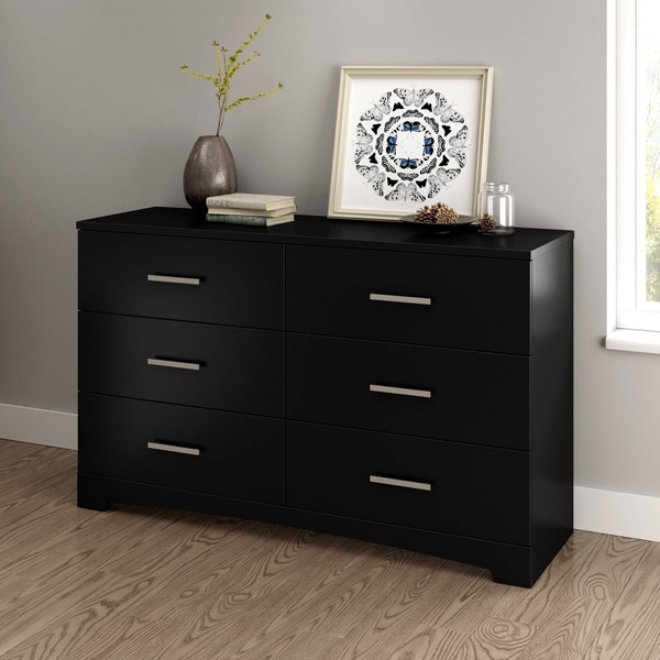 South Shore Furniture Gramercy 6 Drawer Double Dresser