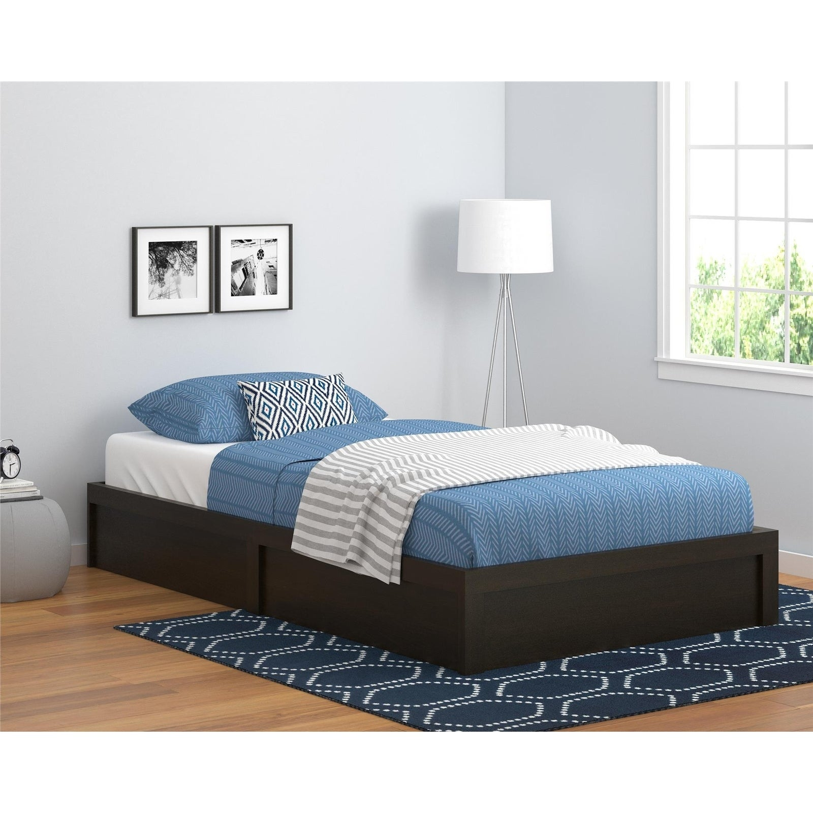Havenside Home Amelia Platform Twin Bed Frame