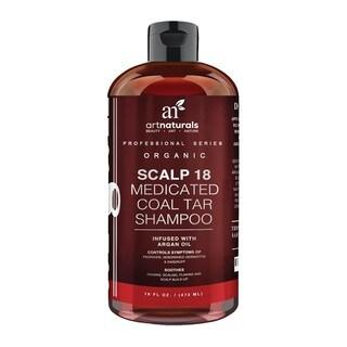 artnaturals Scalp18 Coal Tar 16-ounce Dandruff Shampoo