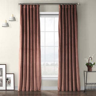 Exclusive Fabrics Heritage Plush Velvet Curtain|https://ak1.ostkcdn.com/images/products/16487372/P22827245.jpg?impolicy=medium