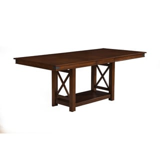 Alpine Artisan Extension Counter Height Dining Table - Brown