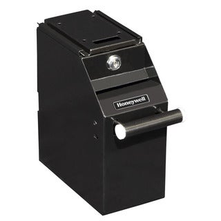 Honeywell Small Undercounter Depository Safe in Black