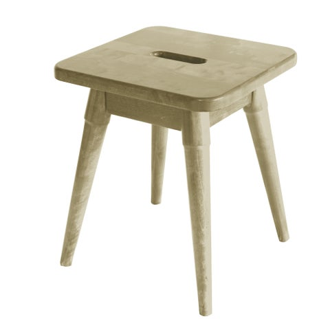 """NewRidge Home Arendal Solid Wood 18"""" Square Stool"""