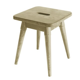 Somette Arendal Solid Wood Square Stool