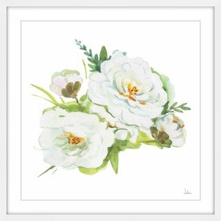 'White Innocence' Framed Painting Print