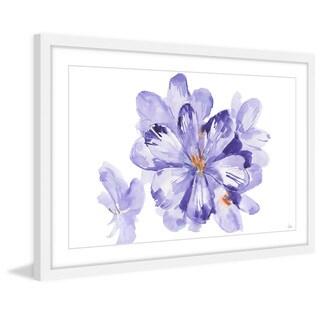 'Purple Triumph' Framed Painting Print