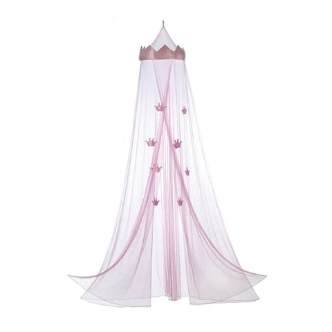 Koehler Home Decor Pink Princess Bed Canopy