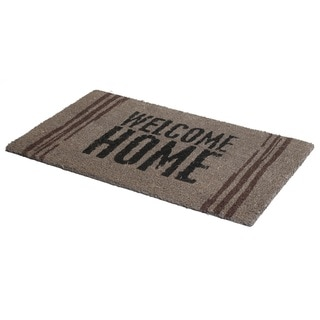 Fab Habitat Welcome Home Doormat Size 18 x 30 inches, Non-Slip, Durable (India)