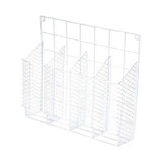 Ybmhome 4 compartment Wall Mount Kitchen Storage Organizer Holder