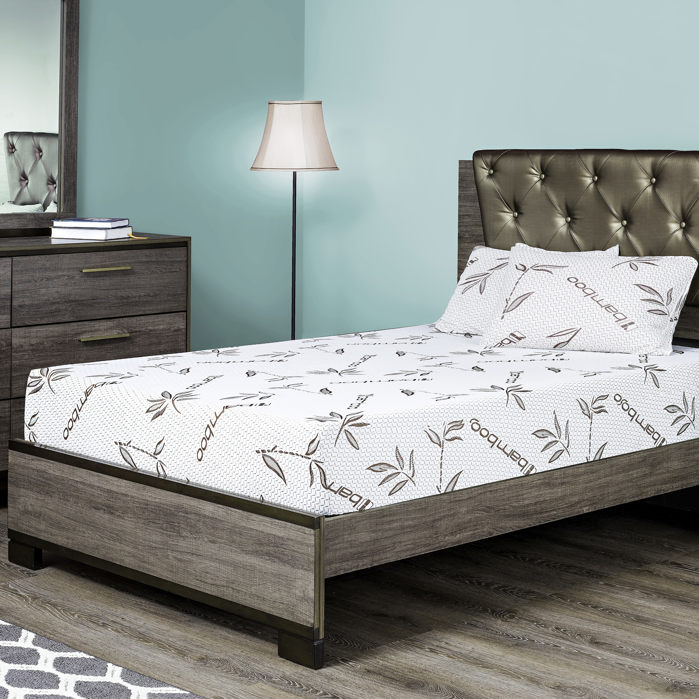 Fortnight Bedding 6-inch Twin XL-size Gel Memory Foam Mat...