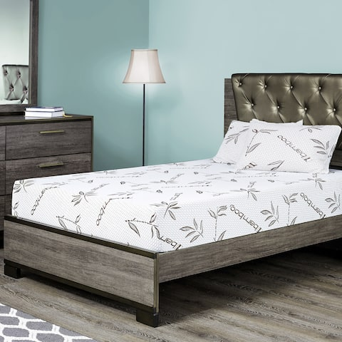 Fortnight Bedding 6 Inch Twin Xl Size Gel Memory Foam Mattress