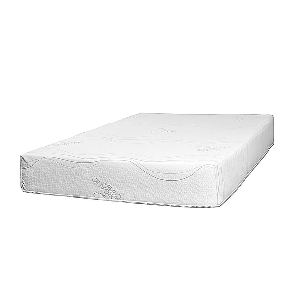 shop fortnight bedding 8 inch twin xl size latex foam mattress free shipping today overstock. Black Bedroom Furniture Sets. Home Design Ideas