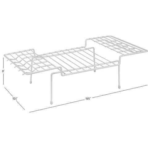 Ybm Home Wire Kitchen Counter and Cabinet Helper Shelf