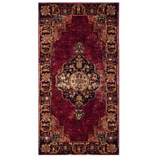 Safavieh Vintage Hamadan Vintage Oriental Red/ Multi Area Rug (2'2 x 4')