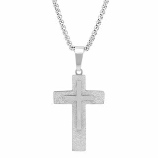 Stainless Steel Crucifix Pendant