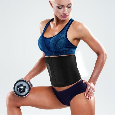 Waist Trimmer Belt, Waist Trainer Tummy Control For Men & Women
