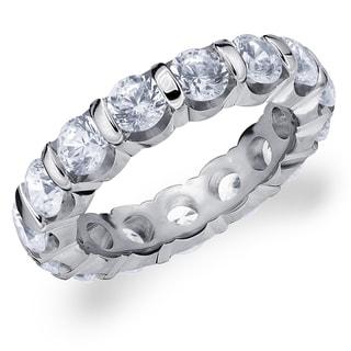 Amore Platinum 4.0 CTTW Eternity Diamond Wedding Band