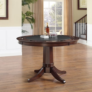 Crosley Furniture Reynolds Rustic Mahogany Game Table