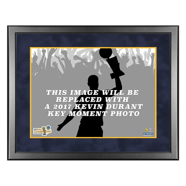 2017 NBA Champion Golden State Warriors Kevin Durant Key Moment 8x10 framed