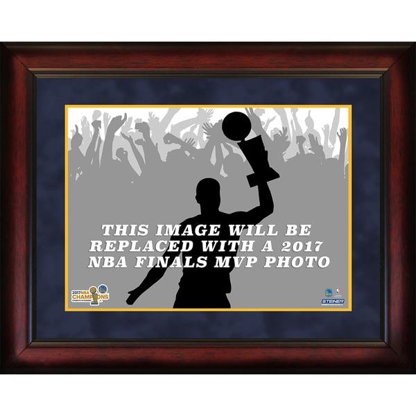 2017 NBA Champion Golden State Warriors MVP 16x20 Framed Photo