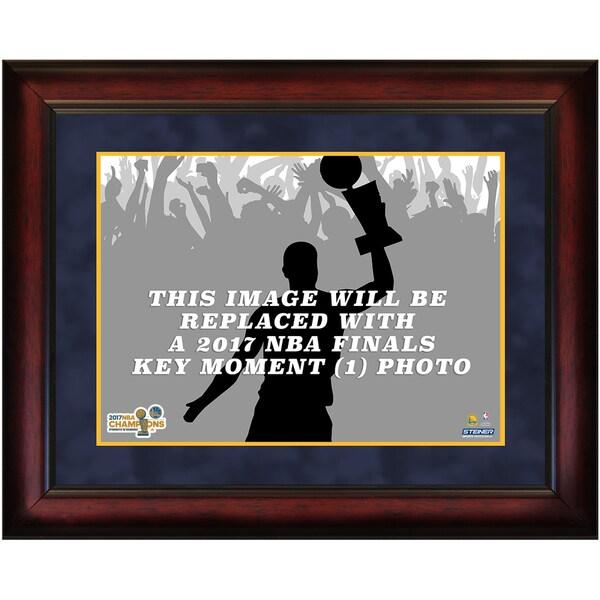 2017 NBA Champion Golden State Warriors Key Moment #1 16x20 Framed Photo