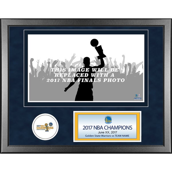 2017 NBA Champion Golden State Warriors Team 11x14 Framed photo with nameplate