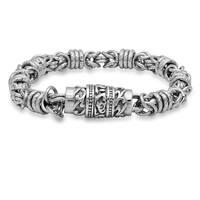 Stainless Steel Cluster Bracelet