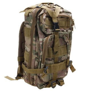 3P Marching Backpack Outdoor War Game Shoulder Bag 25L CP Camouflage