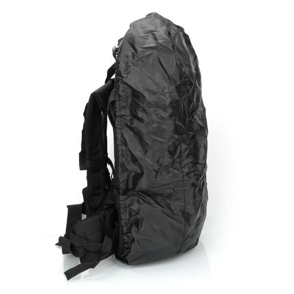 65L Waterproof Outdoor Tactical Backpack Black