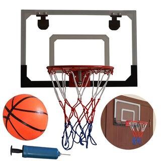 HY-013-B66 Kid Wall Mount Clear Basketball Backboard with Basketball & Pump