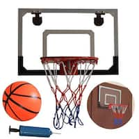 HY-013-B66 Kid Wall Mount Clear Basketball Backboard with Basketball & Pump
