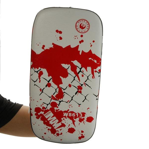 Wolon W8613 Artificial Leather & EVA Thai Kick Pad Black & White