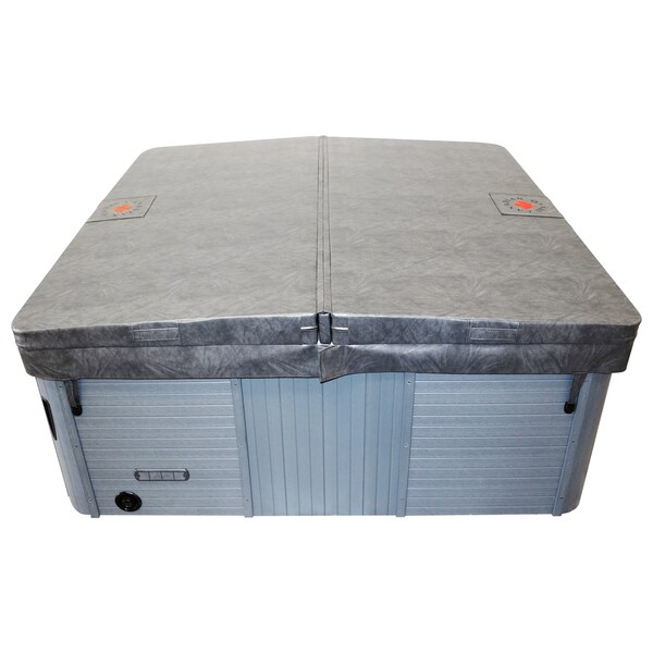 Canadian Spa Square Hot Tub Cover Only with 5in/3in Taper - Grey