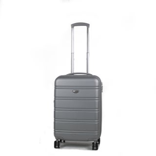 American Green Travel Plateau 20-inch Hardside Carry On Spinner Suitcase (Option: Silver)