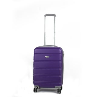 American Green Travel Plateau 20-inch Hardside Carry On Spinner Suitcase