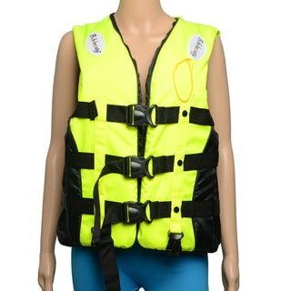J04 Polyester Foam Life Jacket with Whistle