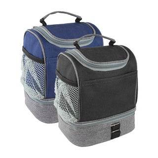 Goodhope Compact Dual Lunch Cooler