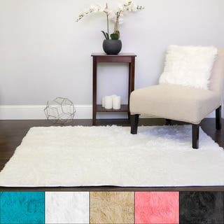 Sweet Home Collection Plush Faux Fur Area Rug (4' x 5')|https://ak1.ostkcdn.com/images/products/16492098/P22830643.jpg?impolicy=medium