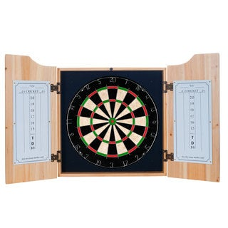 George Killians Irish Red Dart Cabinet Set with Darts and Board