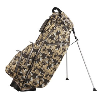OUUL Multicolor Nylon 5-way Standing Golf Bag