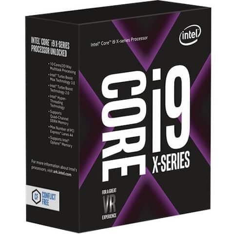 Intel Core i9 i9-7900X Deca-core (10 Core) 3.30 GHz Processor - Socket R4 LGA-2066 - Retail Pack