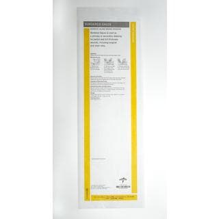 Medline Sterile 4 x 14-inch Bordered Gauze (Pack of 15)