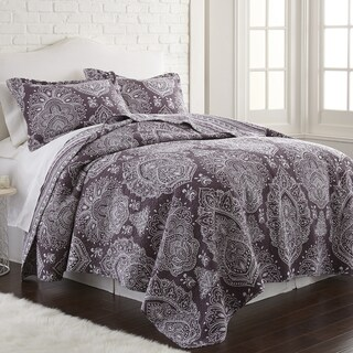 Amrapur Overseas Mandala 100% Cotton 3-Piece Printed Reversible Quilt Set