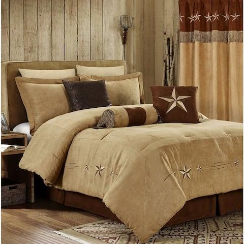 Star Laredo Coffee Antique 7 Piece Comforter Set