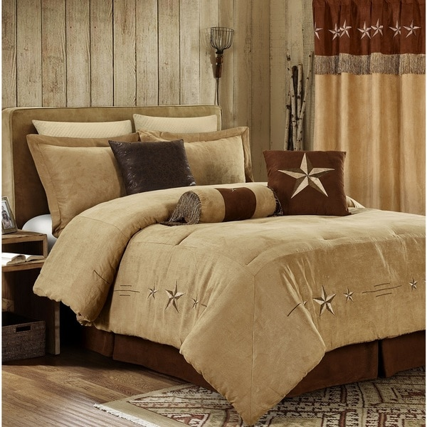 Star Laredo Coffee Antique 7 Piece Comforter Set. Opens flyout.
