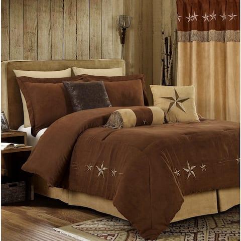 Star Laredo Brown Antique 7 Piece Comforter Set