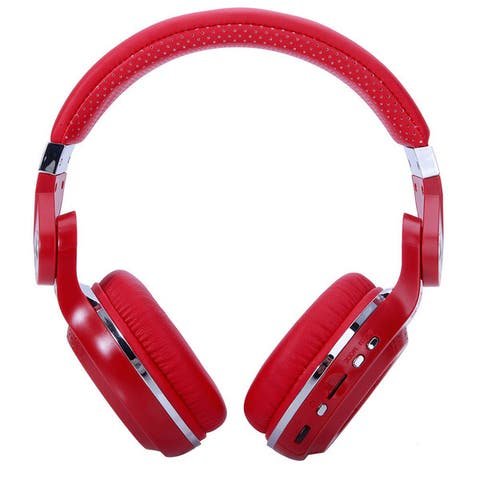 Bluedio T2+ Head-mounted Handsfree Wireless Bluetooth Stereo Headphone Black