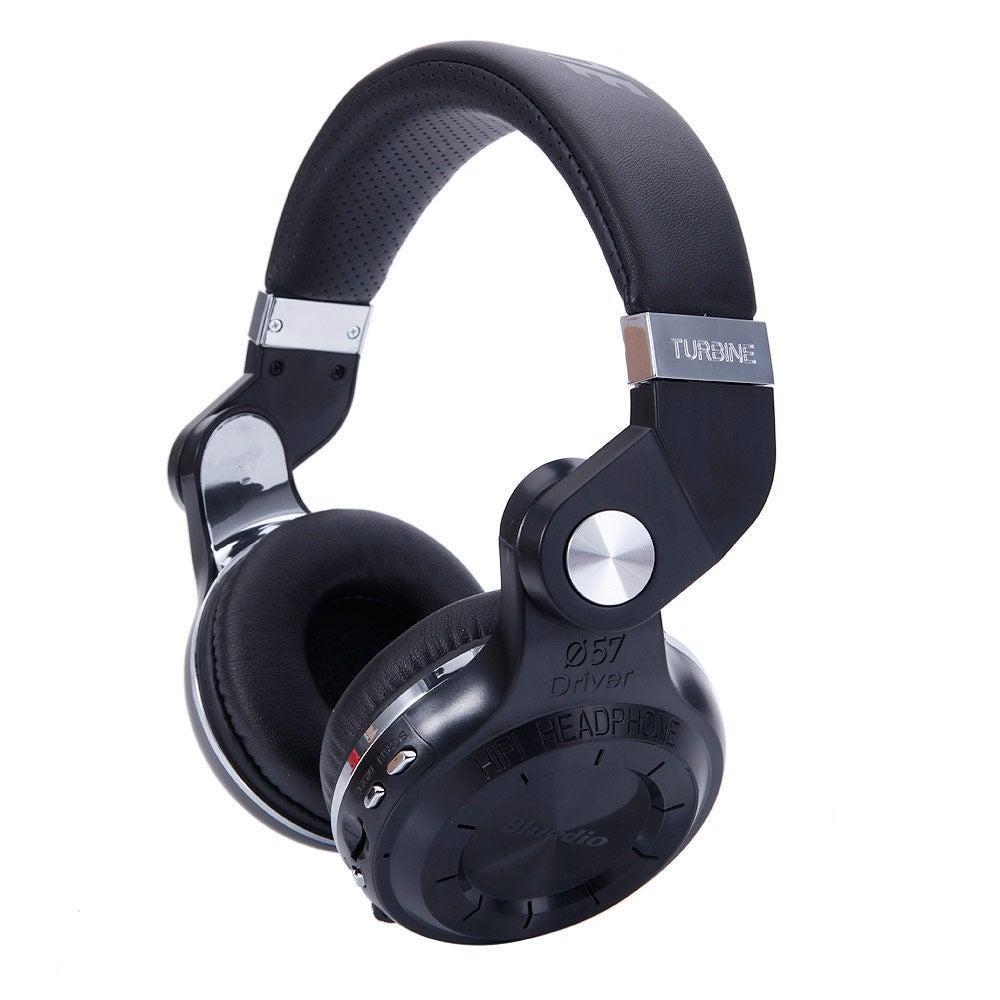 Bluedio T2+ Head-mounted Handsfree Wireless Bluetooth Ste...