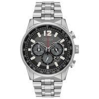 Citizen Men's Silvertone Stainless Steel Eco-Drive Watch